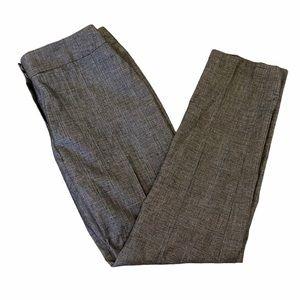 NWOT ANNE KLEIN Wool Blend Grey Check Dress Pant